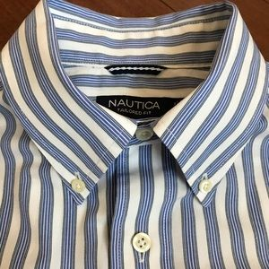 Nautica Tailored Fit L/S Button Down Shirt